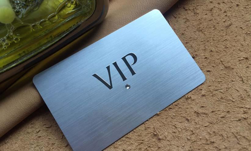 贵宾VIP金属高端卡